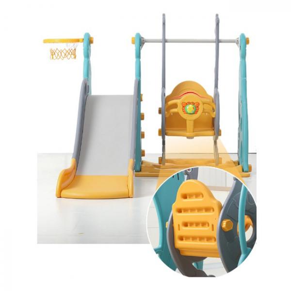 Люлка и пързалка за деца