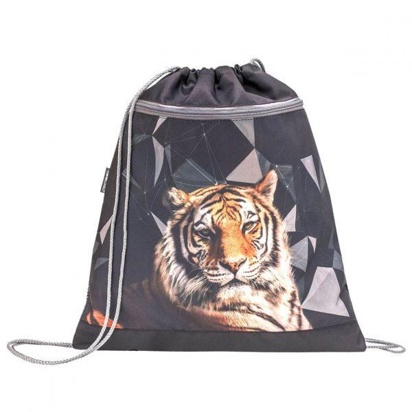 Торба за маратонки с тигър