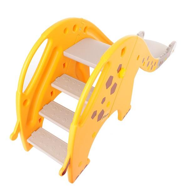 Детска пързалка Жирафчо, оранжева