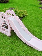 Забавна детска пързалка Колите, Розова